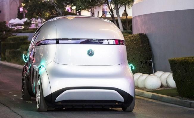 Mercedes Vision Urbanetic - posterior