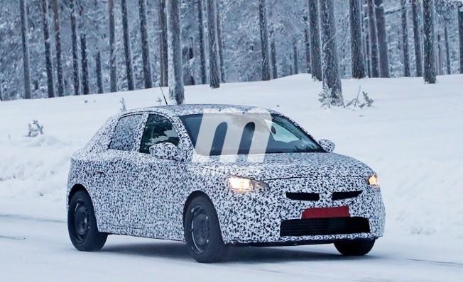 Opel Corsa 2020 - foto espía