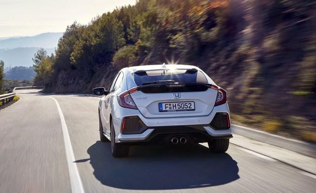 Honda Civic Dynamic Nav - posterior