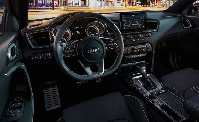 Kia ProCeed GT Line - interior