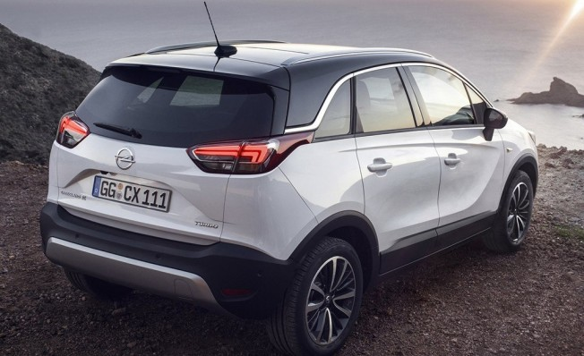 Opel Crossland X - posterior