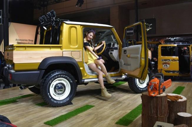 El nuevo Suzuki Jimny Pick up Style concept desde el Tokyo ...