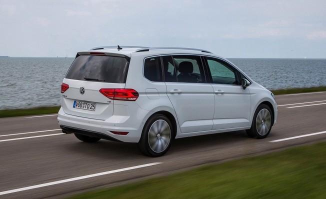 Volkswagen Touran - posterior