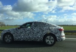 El nuevo Audi e-tron Sportback, cazado en unas fotos espía rodando en Países Bajos