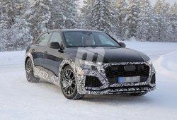 El esquivo Audi RS Q8 cazado al fin durante sus pruebas de invierno