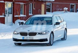 Primeras imágenes del nuevo BMW 530e iPerformance Touring