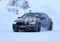 El nuevo BMW M8 Gran Coupé comienza las pruebas de invierno