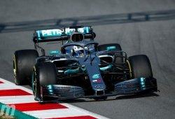 Bottas admite que el Mercedes W10 tiene defectos