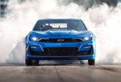 El brutal Chevrolet Camaro eCOPO concept se desboca en la pista