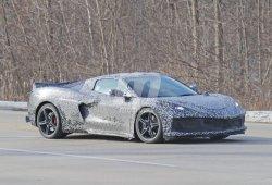 Los nuevos prototipos del Corvette C8 en una megagalería de fotos espía