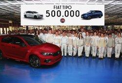 El Fiat Tipo alcanza el medio millón de unidades fabricadas en menos de 3 años