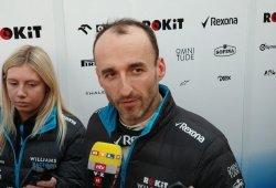 """Kubica reconoce que salió a pista con un coche """"comprometido"""""""