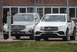 El Mercedes GLC Coupé 2019, cazado destapado luciendo su nuevo diseño