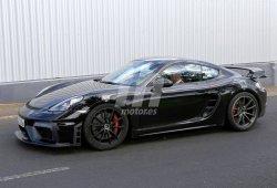 ¿El nuevo Porsche 718 Cayman GT4 será presentado en Goodwood?