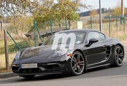 Porsche ya trabaja en el 718 Cayman GT4 Touring Package