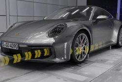 El sistema de aerodinámica activa del nuevo Porsche 911 en vídeo