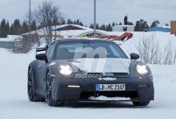 La nueva generación del Porsche 911 GT3 2020 se traslada a las pruebas de invierno