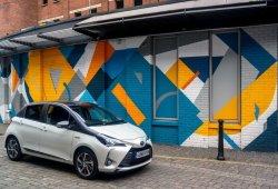 Reino Unido - Enero 2019: El Toyota Yaris alcanza un nuevo techo