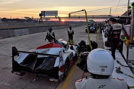 4.000 kilómetros de test para Toyota y Alonso en Sebring