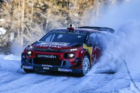 Citroën afronta el Rally de Suecia en 'modo reconquista'