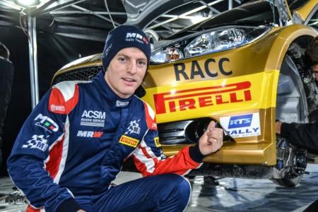 Nil Solans repite en WRC2 gracias a M-Sport y Pirelli