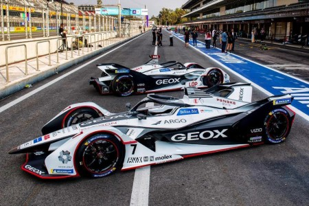 Marciello, gran novedad en el test de Fórmula E en México