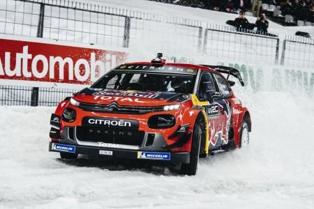 Sébastien Ogier brilla con el C3 WRC en el Stade de France
