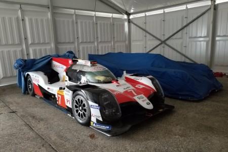 Test de Alonso y Toyota con el TS050 Hybrid en Sebring