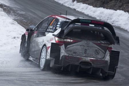 Toyota pone la directa para conquistar el Rally de Suecia