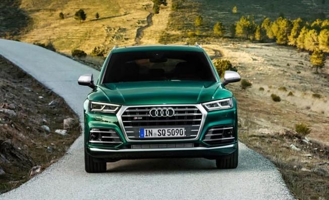 Audi SQ5 TDI - frontal