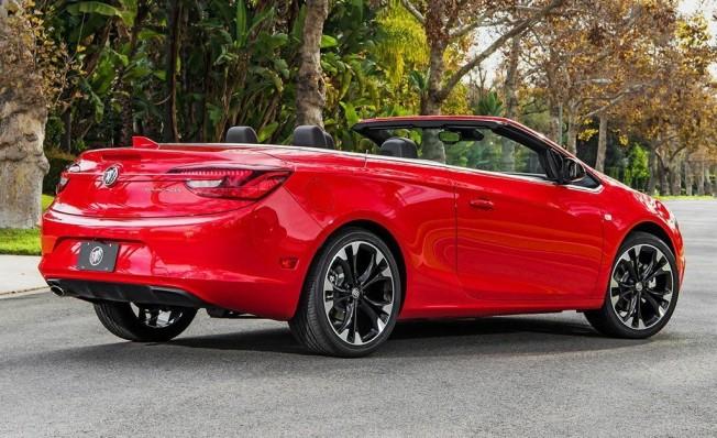 Buick Cascada - posterior