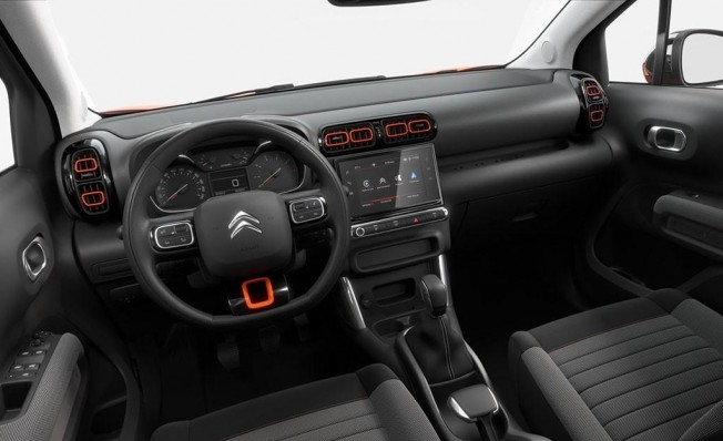 Citroën C3 Aircross #InspiredBy - interior