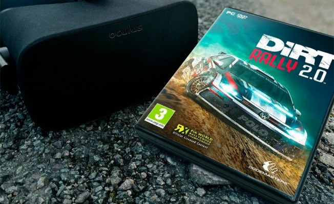 DiRT Rally 2.0 será compatible con Oculus Rift