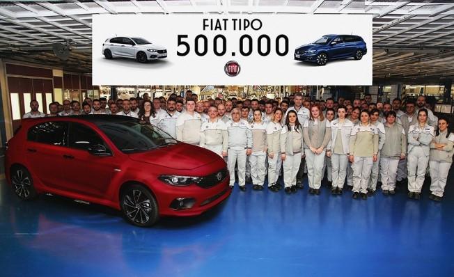 Fiat Tipo número 500.000