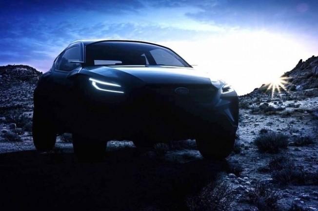 cbdb9aa0ae El nuevo adelanto del Subaru VIZIV ADRENALINE deja entrever un crossover de  dos puertas con un