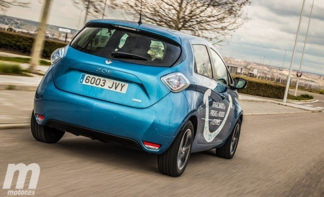 Renault Zoe - posterior