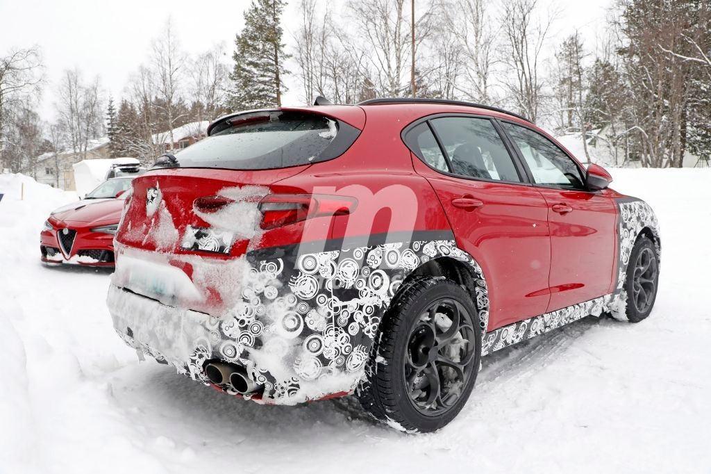 2020 Alfa Romeo Stelvio Facelift 9