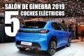 Los 5 mejores coches eléctricos del Salón de Ginebra 2019