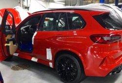 El nuevo BMW X5 M Competition filtrado al desnudo