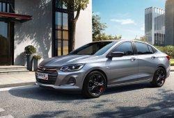 Chevrolet desvela la primera imagen del nuevo Onix Sedán Redline 2019