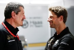 El día de la marmota en Haas: Grosjean volvió a abandonar por una rueda mal ajustada