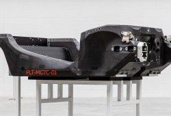 McLaren ha fabricado el primer chasis en su nueva factoría de Sheffield