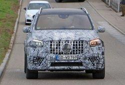 Avistado un prototipo más avanzado del nuevo Mercedes-AMG GLS 63 2020