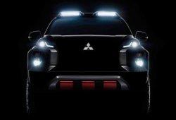 Mitsubishi presentará un nuevo y agresivo pick-up conceptual en Bangkok