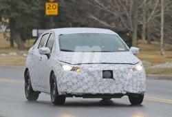 Primeras imágenes de la nueva generación del Nissan Versa Sedan
