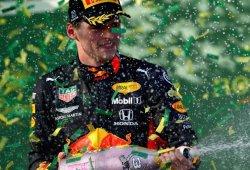 """Verstappen le da a Honda su primer podio desde 2008: """"Se lo han merecido"""""""