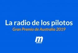 [Vídeo] La radio de los pilotos en el GP de Australia F1 2019