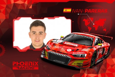 Iván Pareras aterriza en la Blancpain con Phoenix Racing