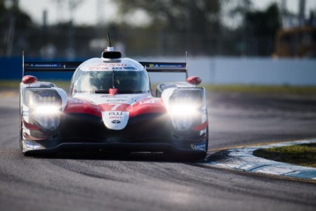 'Pechito' lidera el FP2 con el Toyota #7, Alonso es segundo en Sebring