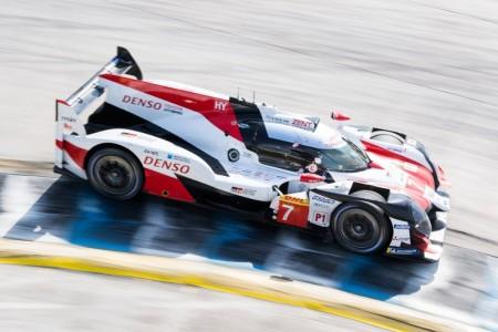 'Pechito' vuelve a mandar con el Toyota #7 en los libres 3 de Sebring